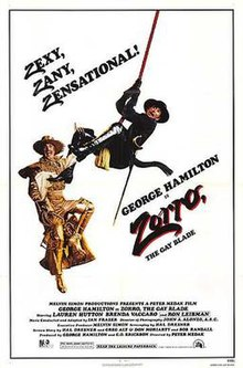 Image result for zorro the gay blade