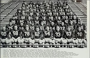 1953 Illinois Fighting Illini football team - Image: 1953 Illinois Fighting Illini football team