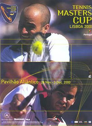 2000 Tennis Masters Cup and ATP Tour World Championships - Image: 2000 Tennis Masters Cup Poster