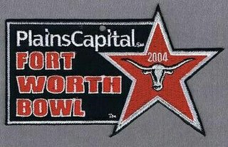 2004 Fort Worth Bowl annual NCAA football game
