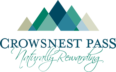 Official logo of Crowsnest Pass