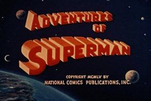 Adventures of Superman (TV series) - Image: ADV Title Screen