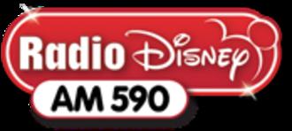 WDWD - Radio Disney AM 590 logo used from 2010-2013.