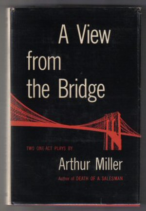 A View from the Bridge - First edition cover