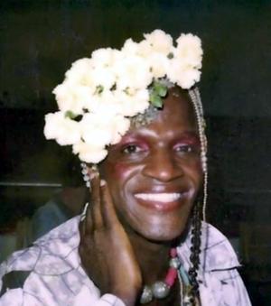 Marsha P. Johnson - Image: A photo of Marsha P. Johnson