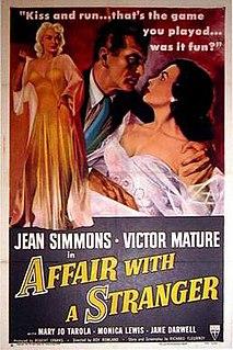 <i>Affair with a Stranger</i> 1953 film by Roy Rowland