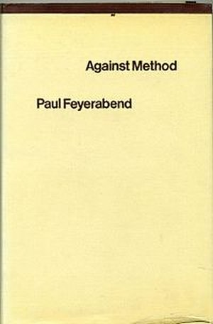 Against Method - Cover of the first edition