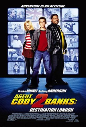 Agent Cody Banks 2: Destination London - Theatrical release poster