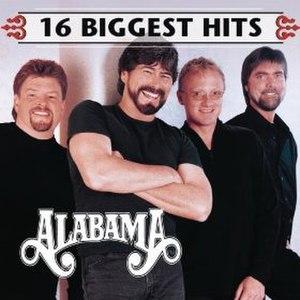 16 Biggest Hits (Alabama album) - Image: Alabama 16Biggest