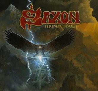 Thunderbolt (Saxon album) - Image: Album cover of Saxon Thunderbolt (2018)