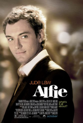 Alfie (2004 film) - Theatrical release poster