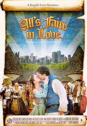All's Faire in Love - Promotional poster
