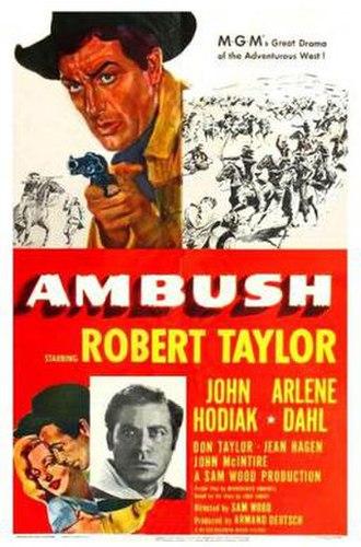 Ambush (1950 film) - Movie Poster