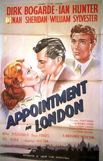 Appointment in London - Original cinema poster