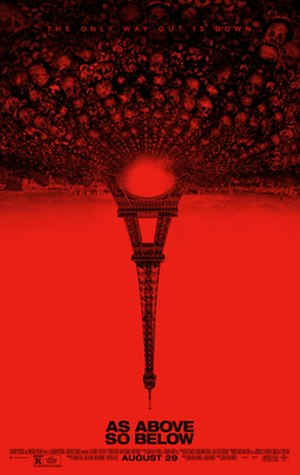As Above, So Below (film) - Theatrical release poster