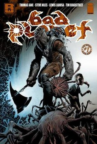 Bad Planet - Cover of the first issue
