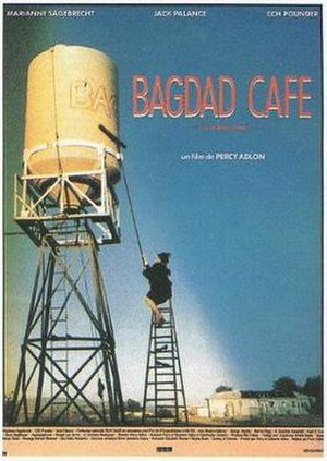 Bagdad Café - French-language film poster