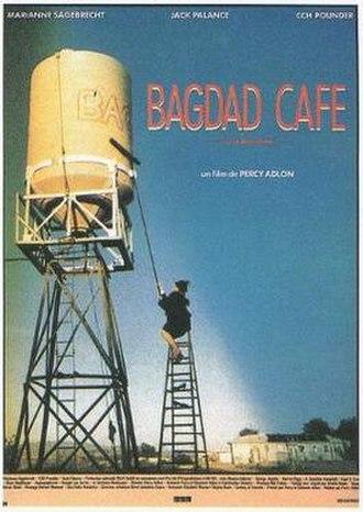 Bagdad Café - French-language film poster