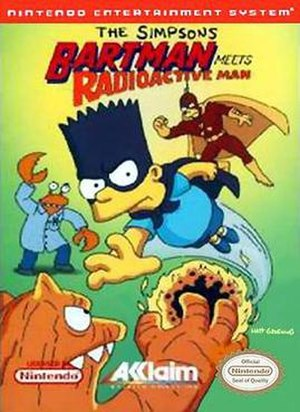 The Simpsons: Bartman Meets Radioactive Man - The Simpsons: Bartman Meets Radioactive Man