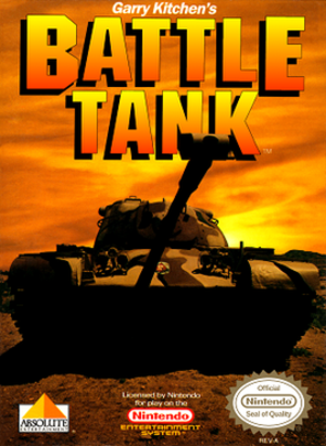 Battle Tank (video game) - Cover art