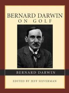 Bernard Darwin golf writer and amateur golfer
