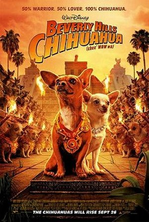 Beverly Hills Chihuahua - Theatrical release poster