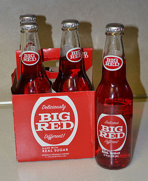 Big Red (drink) - Retro labelled four-pack
