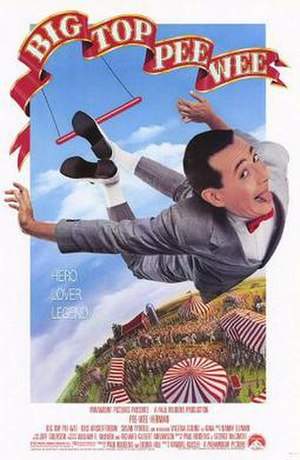 Big Top Pee-wee - Theatrical release poster