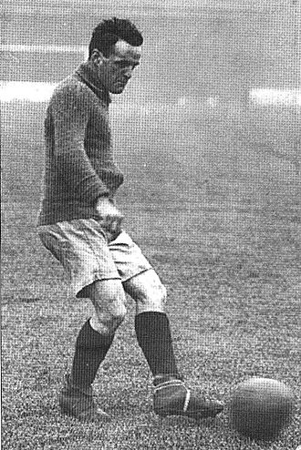 Billy Briscoe - Briscoe in action.
