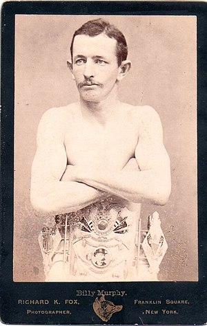 Young Griffo - Billy Murphy, World Featherweight Champion
