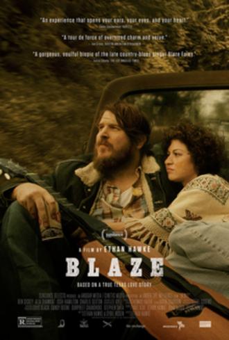 Blaze (2018 film) - Theatrical release poster
