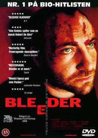 Bleeder (film) - DVD cover
