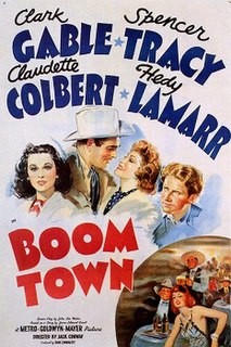 <i>Boom Town</i> (film) 1940 film by Jack Conway, John Waters