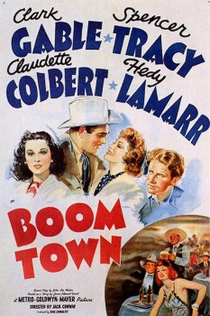 Boom Town (film) - Theatrical release poster
