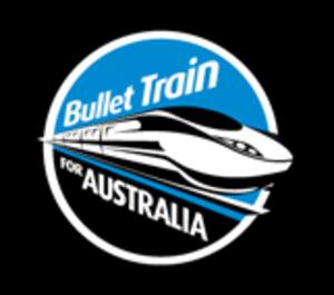 Bullet Train for Australia - Image: Bullet train for australia logo