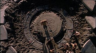 Stargate (device) - A Stargate being excavated.