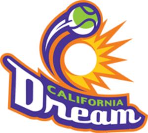California Dream (tennis) - Alternate logo of the California Dream.