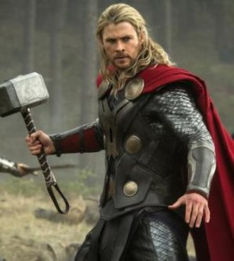 Thor (Marvel Cinematic Universe) - Thor, as portrayed by Chris Hemsworth in Thor: The Dark World (2013)