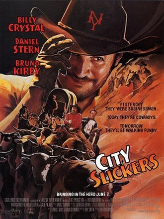 City Slickers - Theatrical release poster by John Alvin