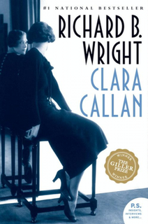 <i>Clara Callan</i> book by Richard B. Wright