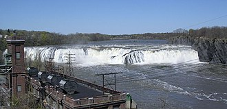 Cohoes Falls - Cohoes Falls in Spring - High Volume.