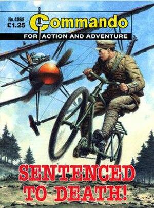 Commando (comics) - Image: Commando 4068 cover