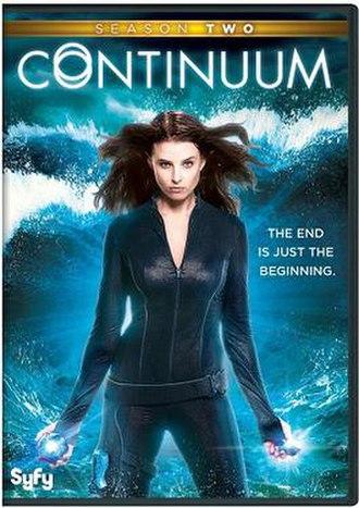 Continuum (season 2) - American DVD cover art