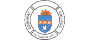 "Let there be light - The emblem of Cornway College with the motto ""Let there be light""."