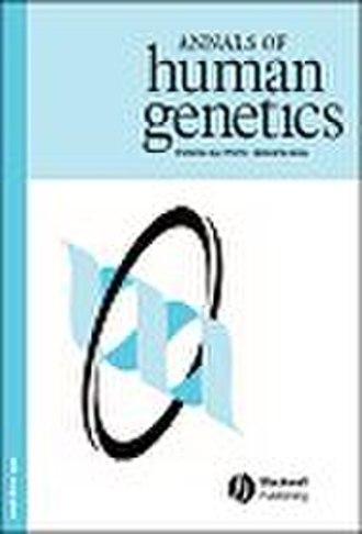 Annals of Human Genetics - Image: Cover Annals of Human Genetics 2005