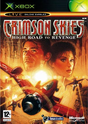 Crimson Skies: High Road to Revenge - Image: Crimson Skies High Road to Revenge Boxart