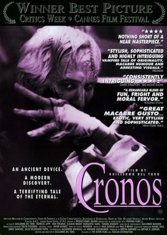 Cronos (film) - Theatrical release poster