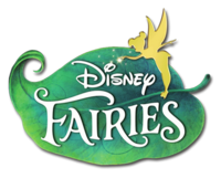 The official Disney Fairies logo.