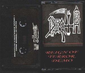 Reign of Terror (demo) - Image: DEATH REIGN OF TERROR
