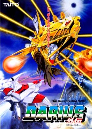 Darius Gaiden - Japanese arcade flyer